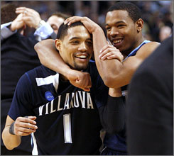 Scottie Reynolds' game-winning shot Saturday vs. Pittsburgh propelled Villanova to its first Final Four since 1985.
