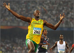 Usain Bolt and a handful of other Jamaican track athletes will highlight the USA vs. Jamaica track challenge, a home-and-home series, sometime in 2010.