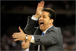 John Calipari is still contemplating whether to take the head coaching job at the University of Kentucky.