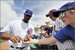 First baseman Derrek Lee says the Chicago Cubs are eager to shed the stigma associated with consecutive three-and-out playoff exits.