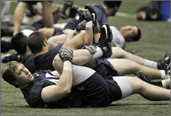 Sean Lee missed all of the 2008 season with an injured knee but will be back for Penn State this fall.