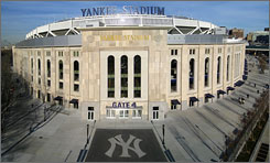 The new Yankee Stadium, built next door to the 1923 model, has general seats that range from $12 to $365. The stadium is 63% bigger than the old one.