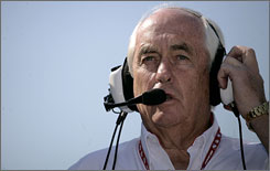 Roger Penske can laugh about it now, after being called &quot;dude&quot; by NASCAR employee Kurt Busch at Martinsville last Sunday.