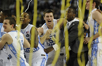 North Carolina won the national championship with a dominating effort on Monday night.
