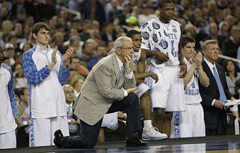 Before the 2008-09 college basketball season began in October, practically everyone was sure Roy Williams' North Carolina squad was the unanimous preseason No. 1 team in the country. Some even suggested the Tar Heels could survive the season undefeated. Although North Carolina didn't win all its games, the Tar Heels did prove they were a force by reaching the Final Four in Detroit.