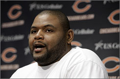 New Bears tackle Orlando Pace said his relationship with coach Lovie Smith helped him decide to sign with Chicago instead of Baltimore.