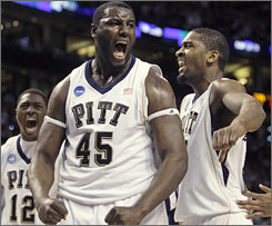 Pittsburgh's DeJuan Blair could return to the Panthers if he does not like his projected status for the NBA draft.