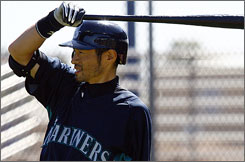 Mariners outfielder   Ichiro Suzuki has missed Seattle's first seven games while on the disabled list for the first time in his career.