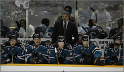 Sharks coach Todd McLellan won a Stanley Cup as an assistant with the Red Wings last season and hopes to have his current squad meet expectations and bring a Stanley Cup to San Jose.