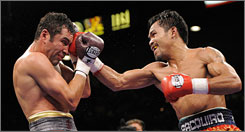 Oscar De La Hoya, who retired this week at 36, was pummeled in his last fight in December by Manny Pacquiao. Boxing analyst Emanuel Steward says there's a 60% chance he'll fight again.