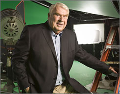 John Madden is stepping away from his 30-year role at TV analyst for NFL games. His spot at NBC will go to Cris Collinsworth.
