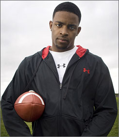 "Michael Crabtree was not able to run the 40-yard dash before the draft because of a stress fracture in his left foot. ""I am a complete football player,"" Crabtree said. ""If anybody wonders about me, I'm a complete football player. I can say it twice. You can't do no better."""