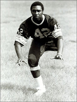 Carl Joseph, who earned 13 letters in football, basketball and track, has been elected to the Florida High School Athletic Hall of Fame.