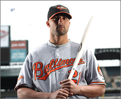 Right fielder Nick Markakis, the Orioles' quiet leader, got a six-year contract worth $66 million.