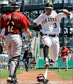 Nyjer Morgan is off to a flying start, but you should consider trading the Pirates' speedy outfielder while his value is high and before his playing time drops.