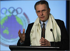 Under International Olympic Committee President Jacques Rogge, softball has been cut from the Games.