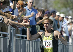 Alan Webb's victory in the men's mile in 2007 was voted as the top moment in the 100 years of action at the Drake Relays.
