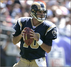Marc Bulger is hoping that the Rams can win more in 2009 after  five combined victories in the last two seasons.