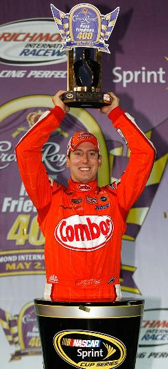 With the win at Richmond International Speedway, Kyle Busch won his 50th career NASCAR race, one-quarter of his stated goal of 200.