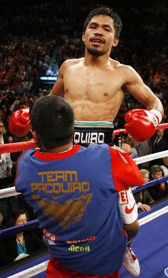 After downing Ricky Hatton, Shane Mosley and Floyd Mayweather Jr., may be next on Manny Pacquiao's to-knockout list.