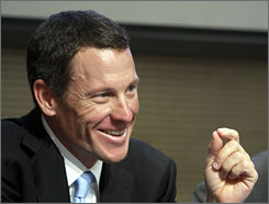 Lance Armstrong says he may step in to help the financially troubled Astana cycling team.