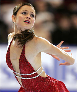 Figure skater Sasha Cohen has taken steps toward a comeback that might qualify her to represent the U.S. at the 2010 Olympics.