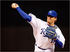 Brian Bannister, demoted to the minors by the Kansas City Royals before opening day, is 3-0 with a 1.48 ERA.