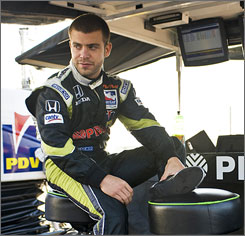 E.J. Viso, who was bumped from a starting spot on Sunday, will try again to qualify Saturday for the Indianapolis 500.
