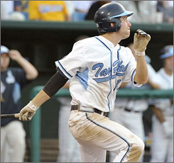 Dustin Ackley is batting over .400 on the season and is expected to go high in the MLB draft in June.