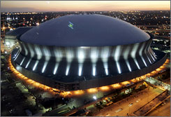 The Louisiana Superdome is a contender to be awarded a new Super Bowl when the NFL owners meet this week.