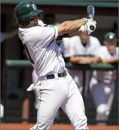 Dartmouth's Mike Pagliarulo has a .333 batting average for the Big Green.