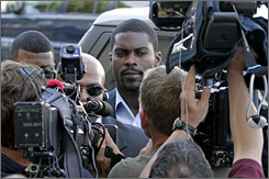 Michael Vick will remain on home detention until July 20 when his federal sentence ends. At that point he's expected to apply for reinstatement to the NFL.