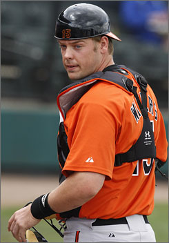 Matt Wieters prepared for this season at the Baltimore Orioles spring training camp in Ft Lauderdale, Fla.