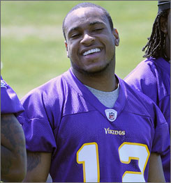 Vikings rookie receiver Percy Harvin might be running Wildcat-type plays for Minnesota next season.