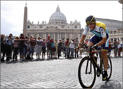 Lance Armstrong has a big month ahead back in Colorado after finishing 12th Sunday in the Giro d'Italia.