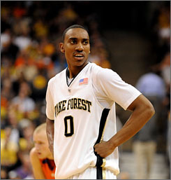 Wake Forest guard Jeff Teague has yet to hire an agent.