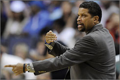 Eddie Jordan was dismissed as the Wizards' head coach last season after a 1-10 start.