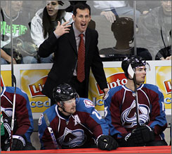 Tony Granato was let go after the Avalanche posted their worst season since the tem moved to Denver in 1995.