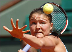 No. 1 seed Dinara Safina is still alive at the French Open and hopes to win her first Grand Slam title this weekend at Roland Garros.