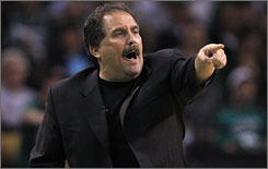 Orlando coach Stan Van Gundy has been on the receiving end of criticism from former and current players, but seems to take it all in stride.