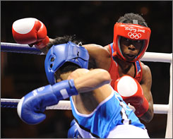 Rau'shee Warren, who lost to Korea's Oksung Lee in Beijing, has moved to bantamweight and is aiming to fight in 2012.