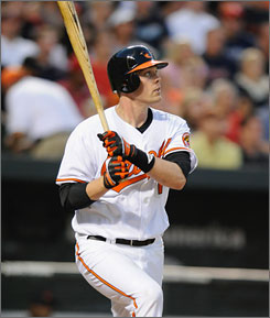 Matt Wieters started the season in the minors before joining the Orioles in May. The top prospect has started slowly, but figures to have a lot of upside the rest of the season.
