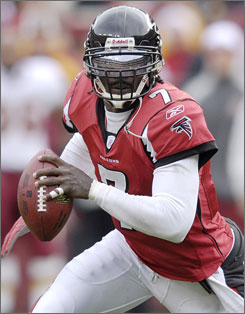 Michael Vick has been officially cut by the Atlanta Falcons, who feel the suspended quarterback would be best served by playing with another NFL team.