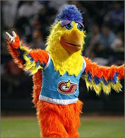 For 35 years, Ted Giannoulas has played the San Diego Chicken.