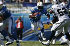 LaDainian Tomlinson is coming off his worst NFL season but says, &quot;I'm probably looking as good as I have in years.&quot;