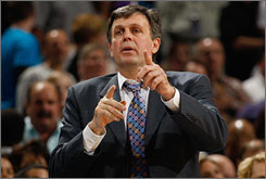 Kevin McHale took over as T'wolves coach during last season, guiding the team to 20 wins in its last 63 games.
