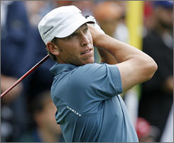 Ricky Barnes set the U.S. Open's 36-hole scoring mark as he holds the lead at Bethpage Black at 8-under par.
