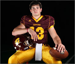 Central Michigan's Dan Lefevour, a dual-threat quarterback in his first two seasons, is looking to bounce back after being slowed by injuries in 2008.