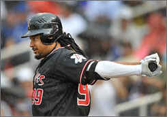 Manny Ramirez went hitless in his two games with the Albuquerque Isotopes. He was expected to return to California on Friday for four games, beginning Saturday, with the Dodgers' Class A affiliate at San Bernardino.