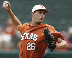 "Texas freshman Taylor Jungmann will be back for the Longhorns next season after the team made it all the way to the College World Series despite not having a player with any CWS experience. ""This is the best team I've brought to Omaha without any experience,"" Longhorns coach Augie Garrido says."